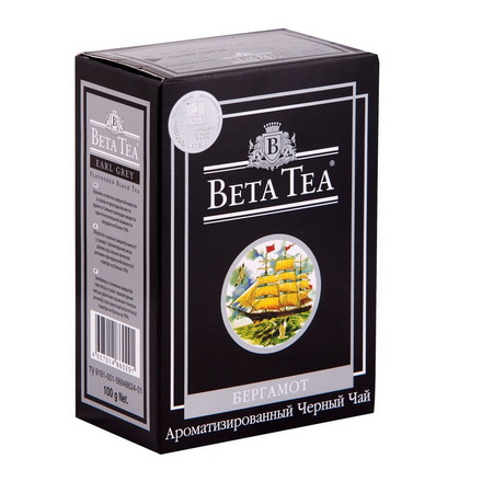Чай 'Beta Tea Earl Grey', 100 гр.