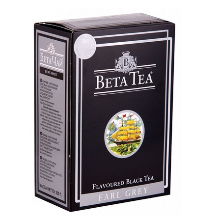 Чай 'Beta Tea Earl Grey', 250 гр.